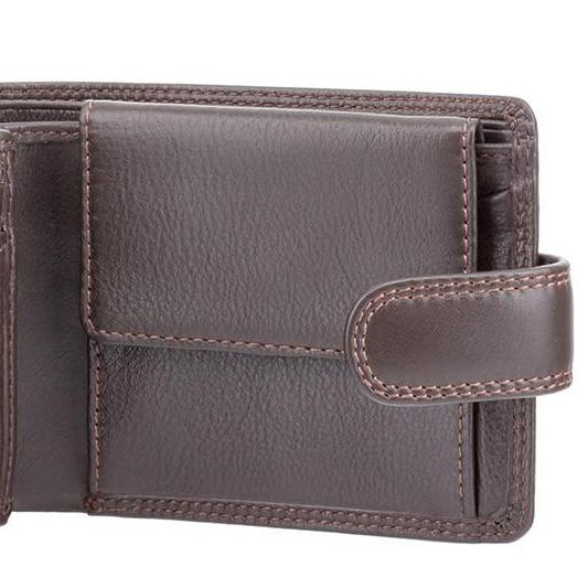 Visconti Heritage HT10 Knightsbridge Soft Brown Leather Wallet