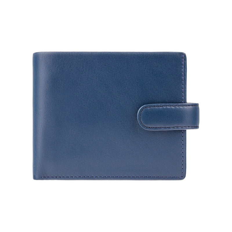Visconti Parma PM102 Blue'n'Mustard Soft Leather Wallet