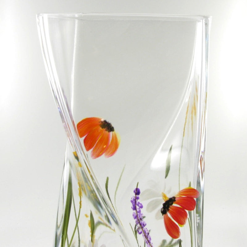 Nobile Meadow Twist Vase - 20cm