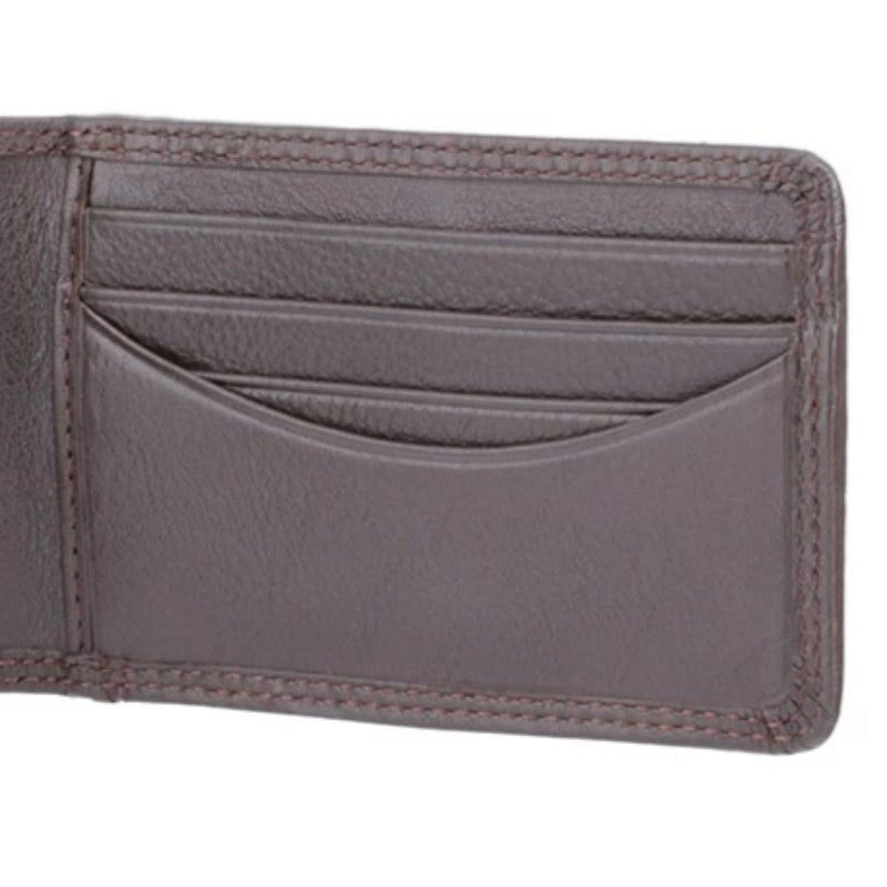Visconti Heritage HT5 Nelson Choc Brown Leather Credit Card Holder