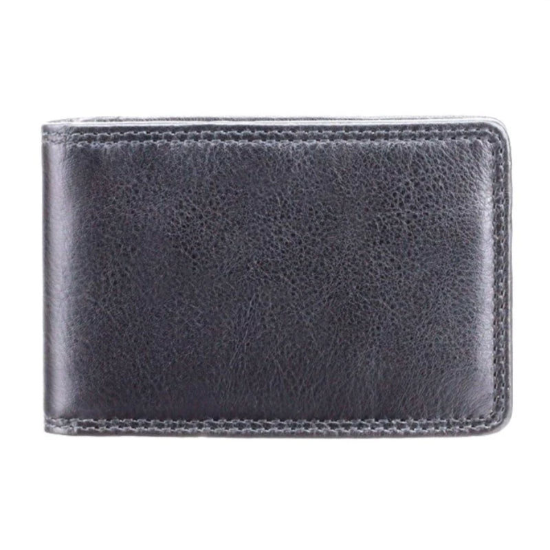 Visconti Heritage HT5 Nelson Soft Black Leather Credit Card Holder