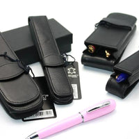 Online Leather Pen Case for 2 Pens - 90759