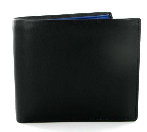 Visconti Parma PM101 Pablo Black'n'Blue Soft Leather Wallet