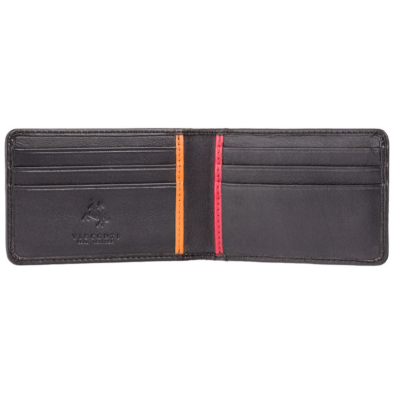 Visconti Bond BD11 Q Design Leather Credit Card Case