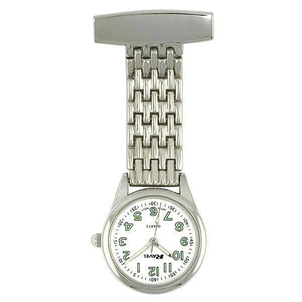 Engraved Nurse Fob Watch Slim Ravel R1101.02