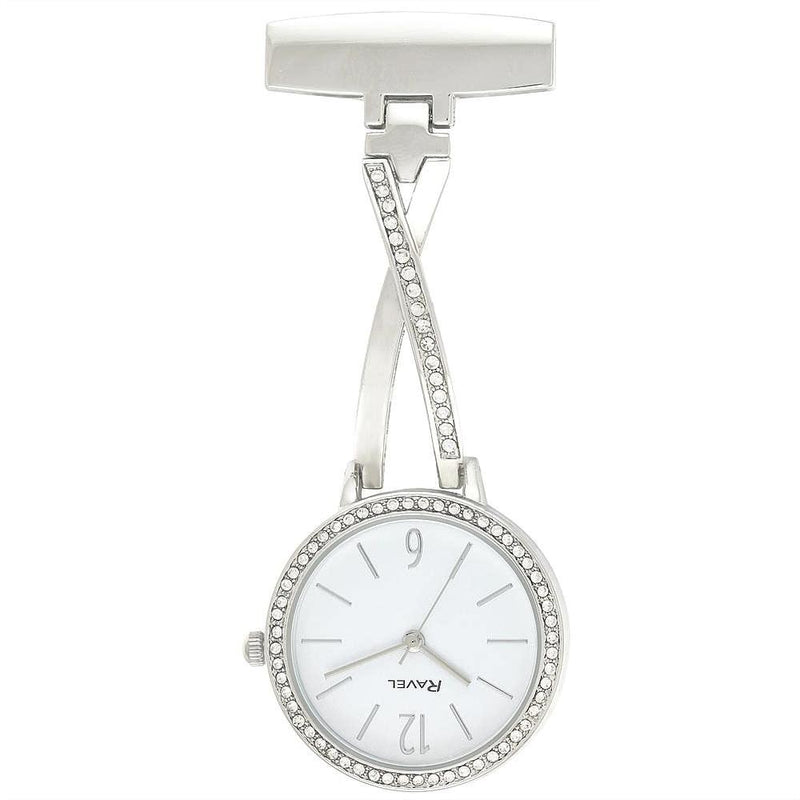 Engraved Nurse Fob Watch Diamante Kriss Kross  R1106.01