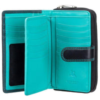 Visconti Ruby Ladies Personalised Purse CD22 aqua