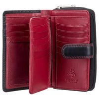 Visconti Ruby Ladies Personalised Purse CD22 red