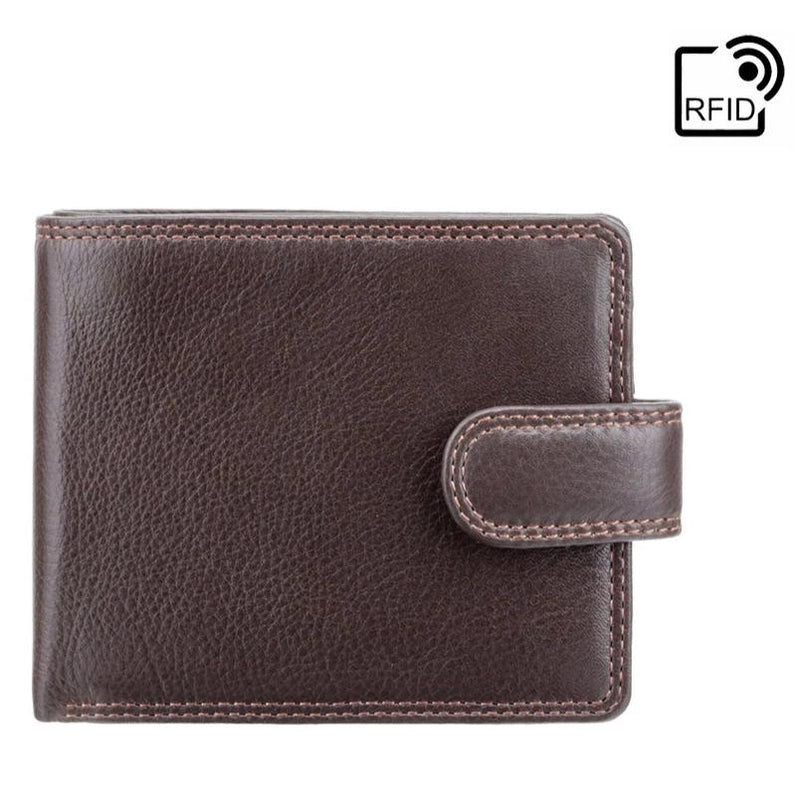 Visconti Heritage HT9 Sloan Soft Chocolate Brown Leather Wallet