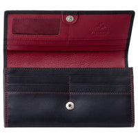 Visconti Topas Ladies Personalised Purse CD21 red