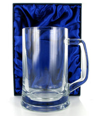 1 Pint Glass Tankard with Free Engraving