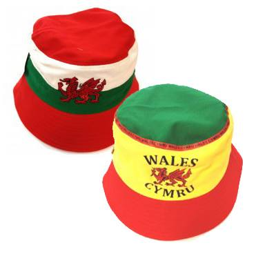 Wales Bucket Supporter Hats