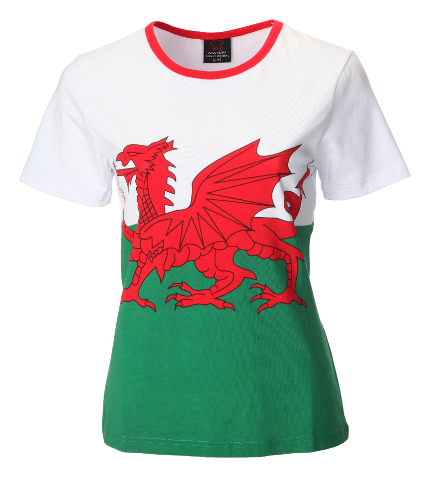 Wales Ladies T-Shirts & Tops