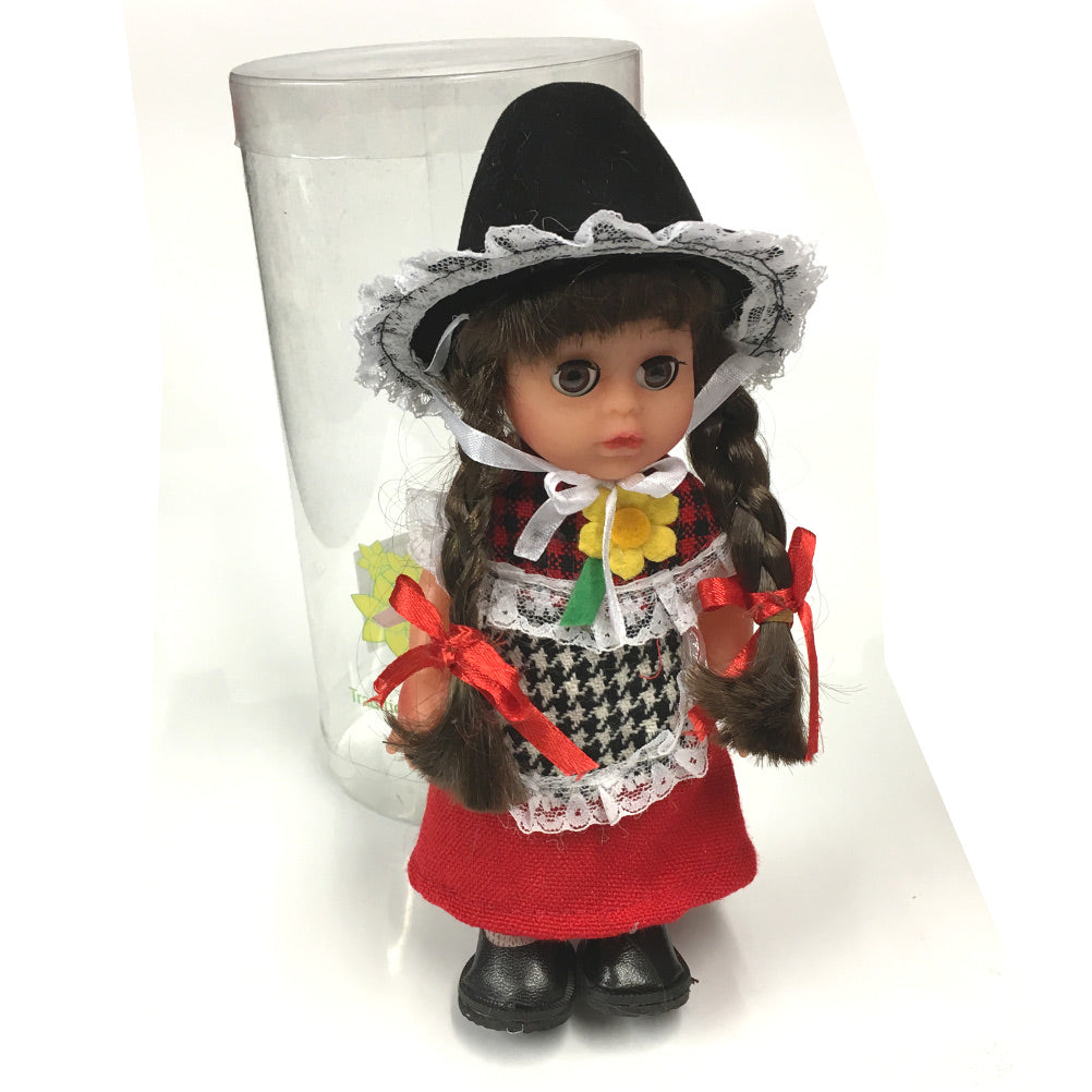 Anwen 8in Traditional Costume Welsh Lady Doll