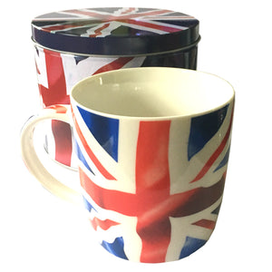 British Union Jack Mug in Gift Tin [GW1556]
