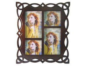Celtic Weave Carved Wood Picture Frame [034]