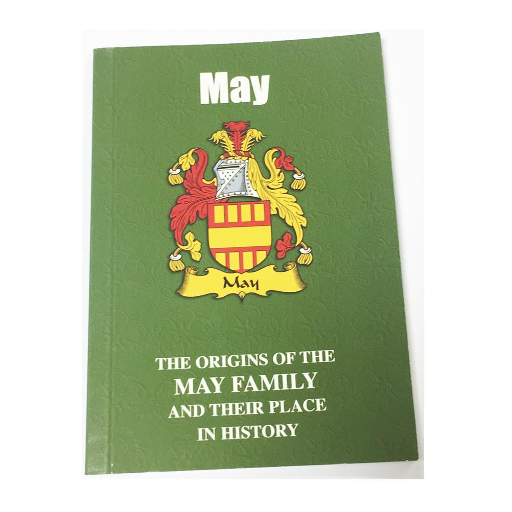 May Family Surname Origins and History Pocketbook