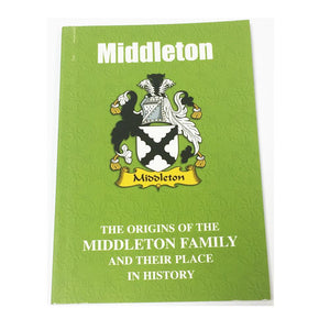 Miller Family Surname Origins and History Pocketbook