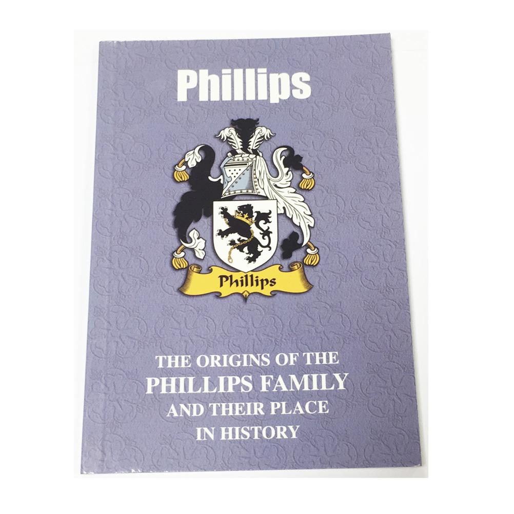 Phillips Family Surname Origins and History Pocketbook