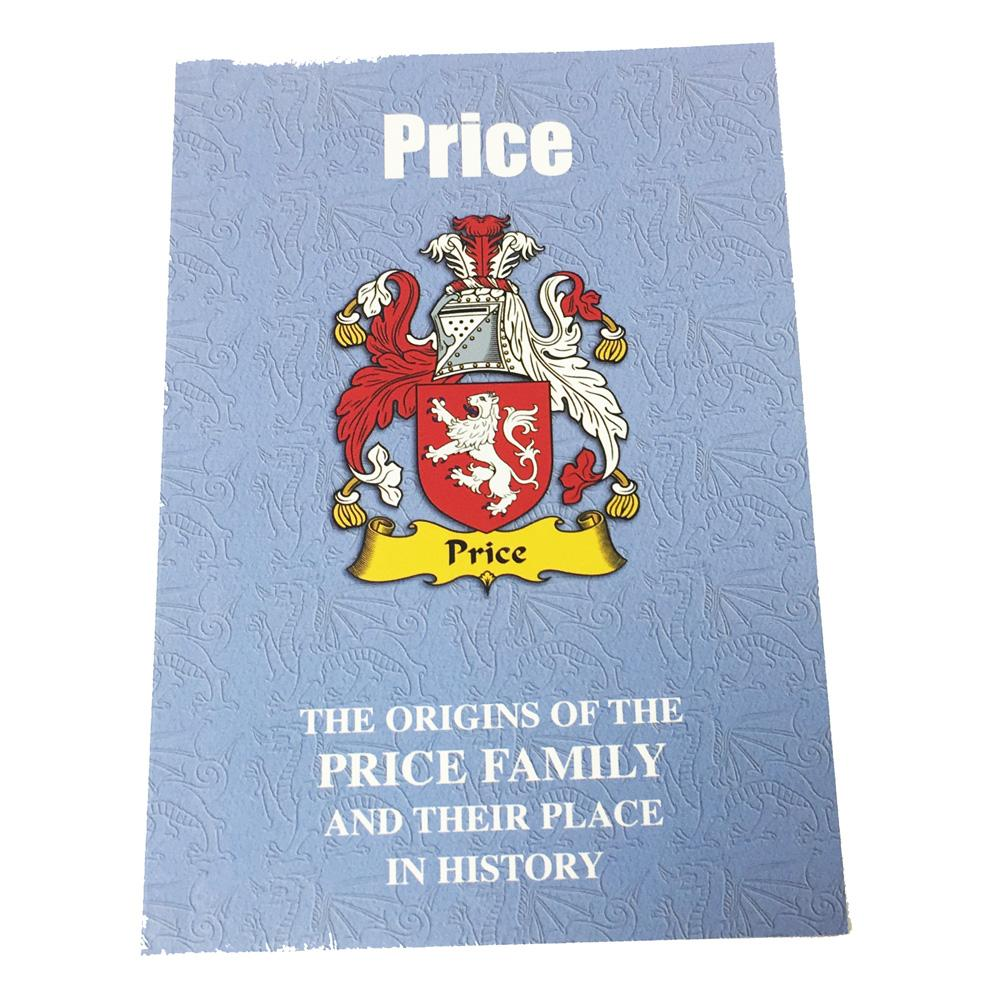 Price Family Surname Origins and History Pocketbook