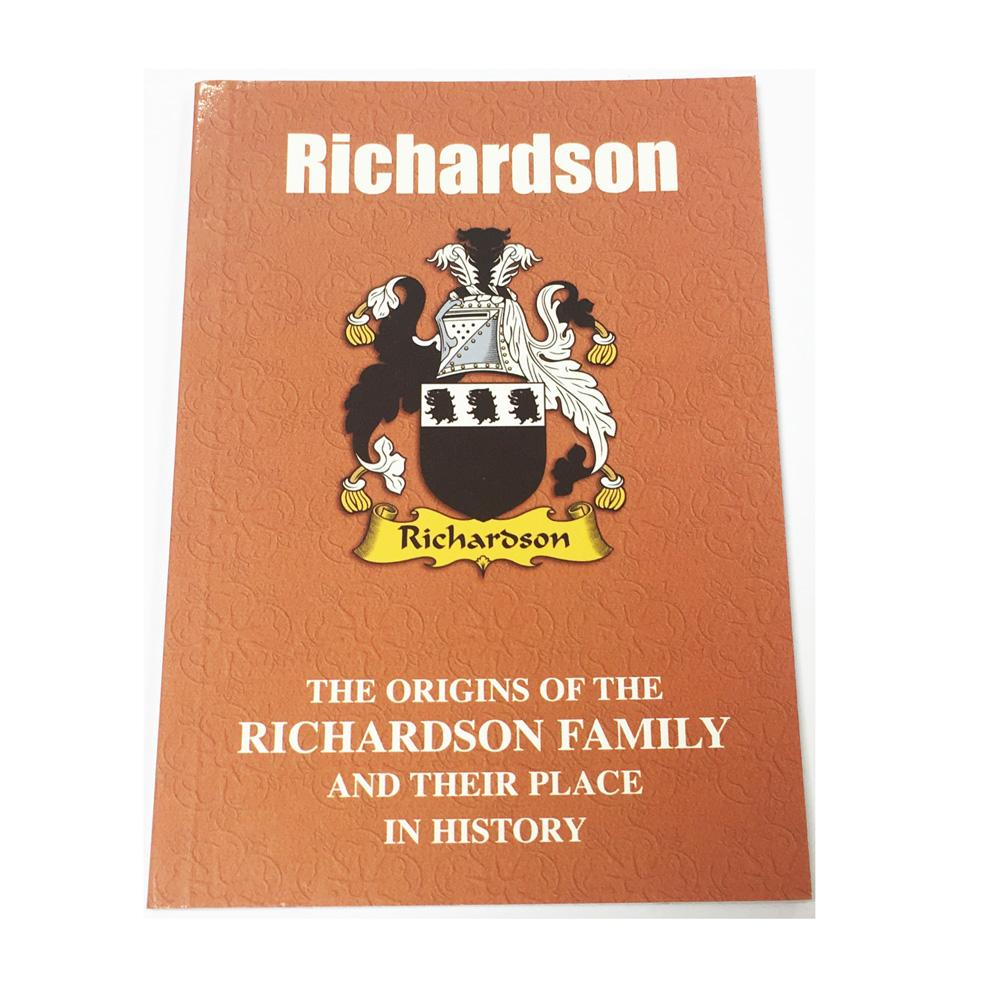 Richardson Family Surname Origins and History Pocketbook