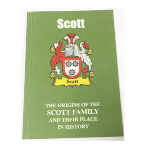 Scott Family Surname Origins and History Pocketbook