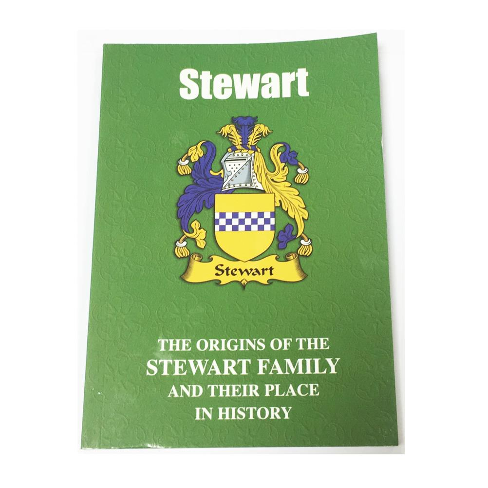 Stewart Family Surname Origins and History Pocketbook