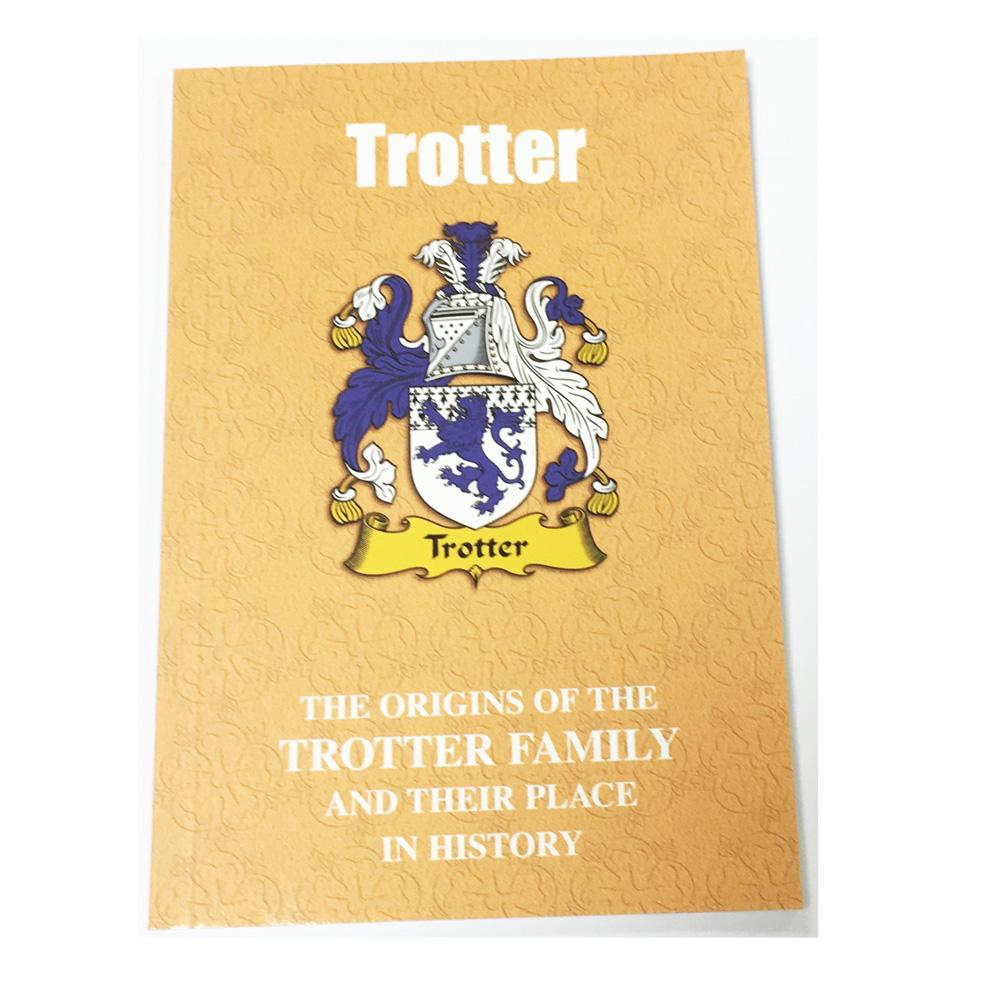 Trotter Family Surname Origins and History Pocketbook