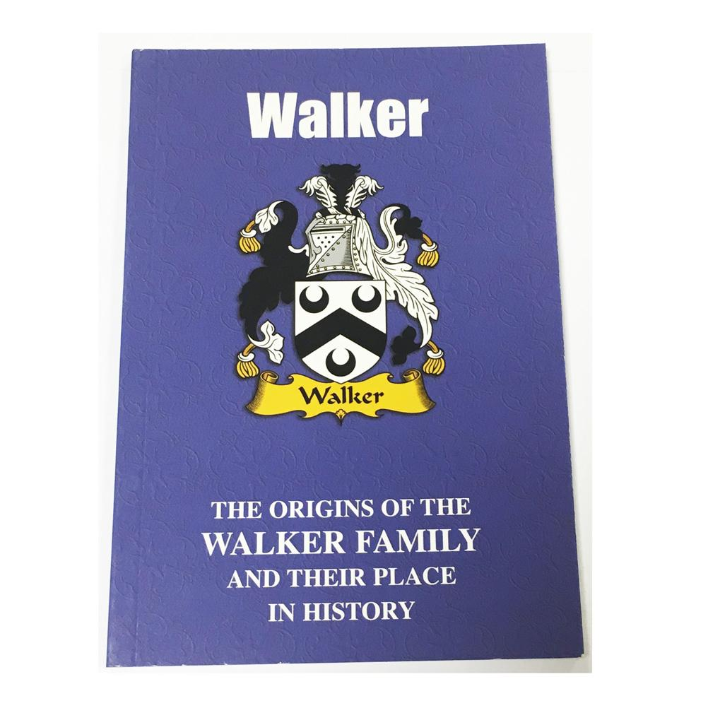 Walker Family Surname Origins and History Pocketbook