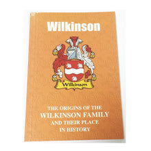 Webb Family Surname Origins and History Pocketbook