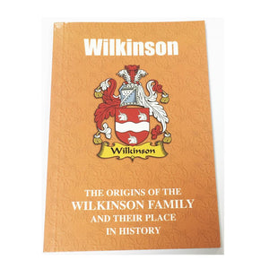 Wilkinson Family Surname Origins and History Pocketbook