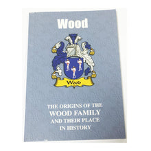 Wood Family Surname Origins and History Pocketbook