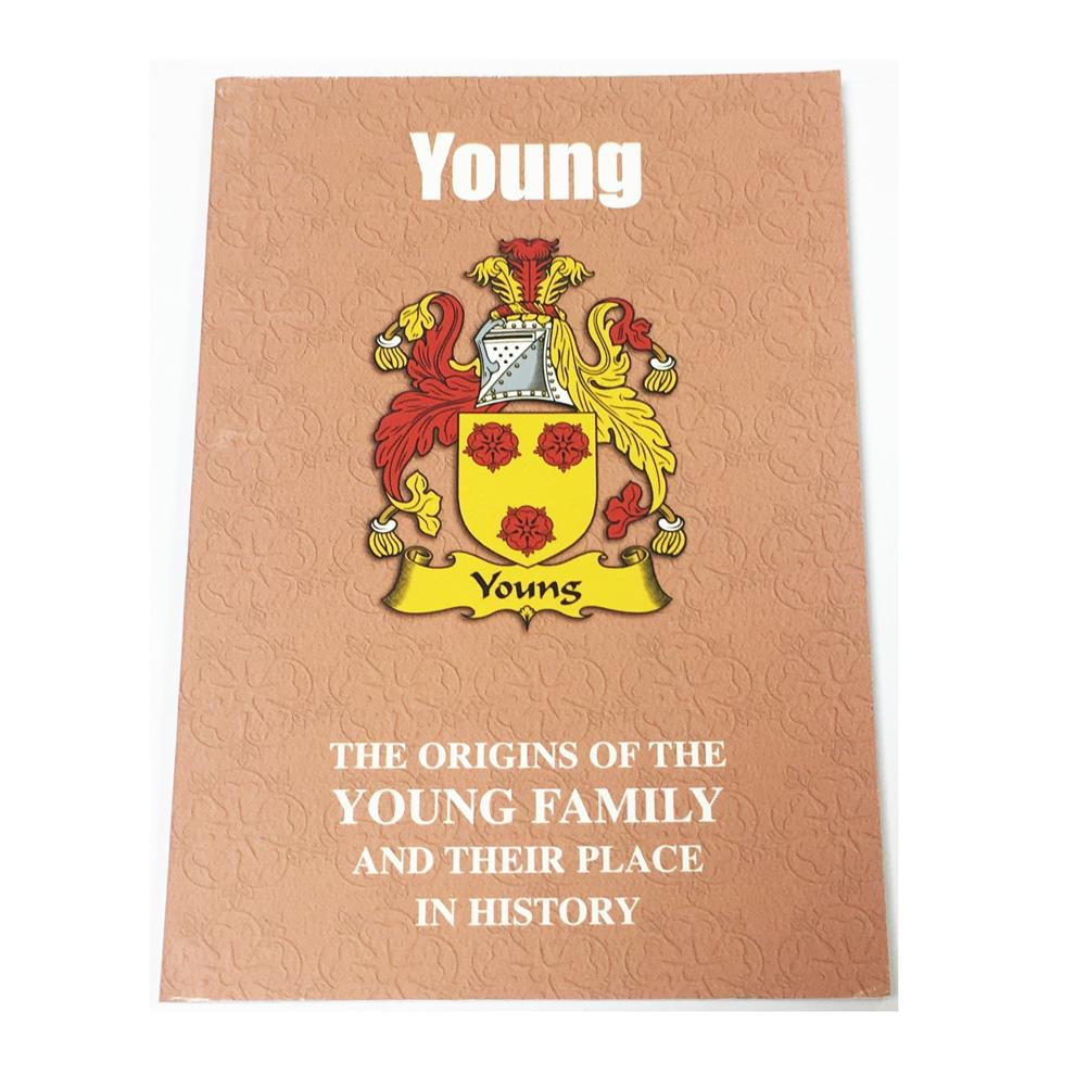 Young Family Surname Origins and History Pocketbook