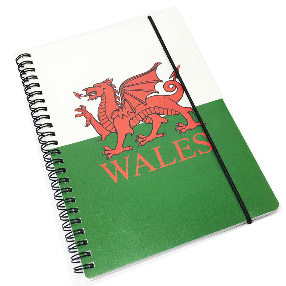 Wales Flag A5 Notebook & Pen