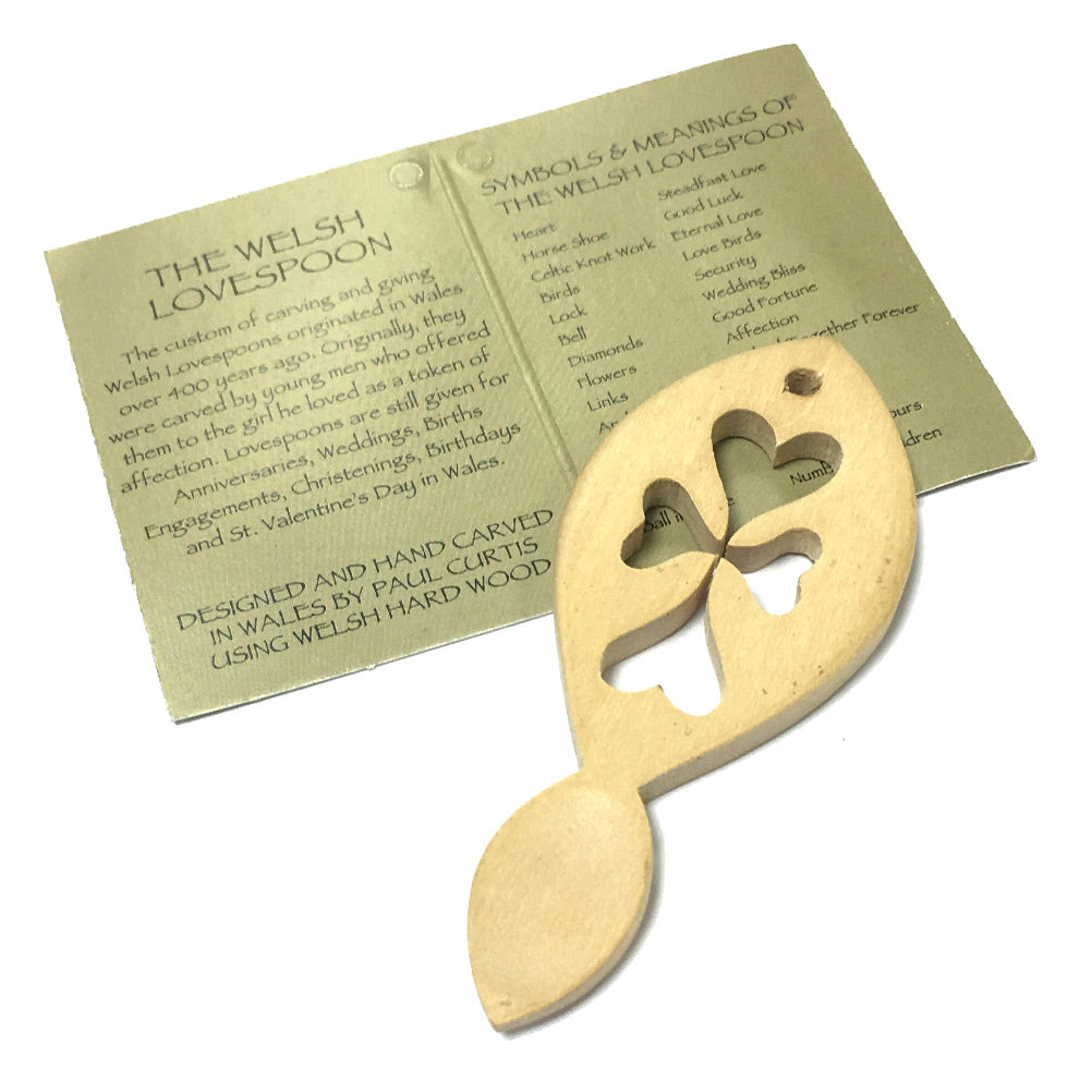 8cm Mini Lovespoon Favour by Paul Curtis