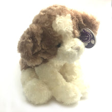 "10"" Dog Soft Toy [brown/white]"