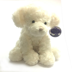 "10"" Dog Soft Toy [white]"