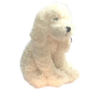 "10"" Long-Eared Dog Soft Toy [white]"