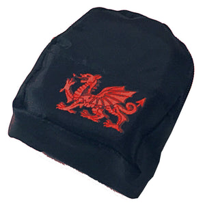 Welsh Dragon Polyester Purse Keyring