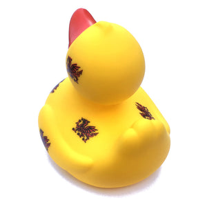 Cymru Wales Dragons Novelty Rubber Duck [wx217] yellow