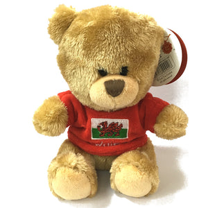 Keel 20cm Pipp Wales Jersey Bear Soft Toy [wp188]