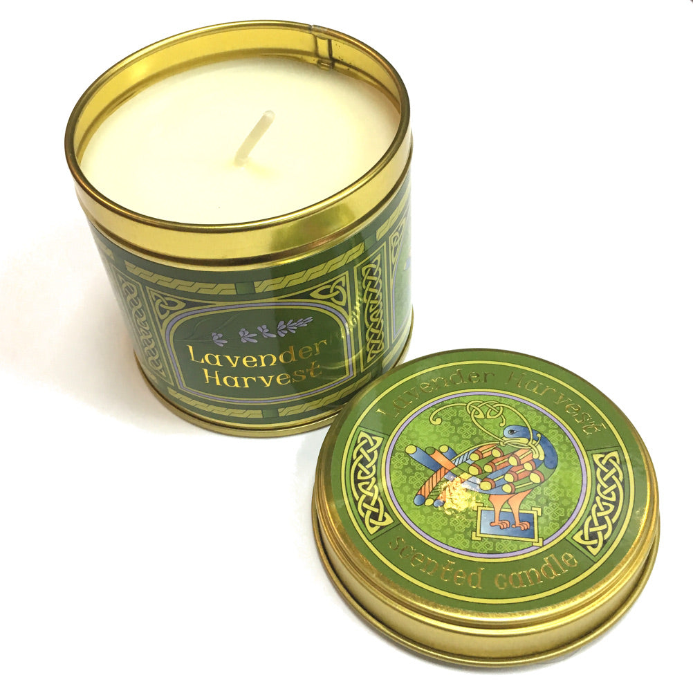 Lavender Harvest Fragrant Tinned Candle