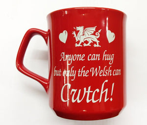 Only Welsh Cwtch Red Mug [g352]