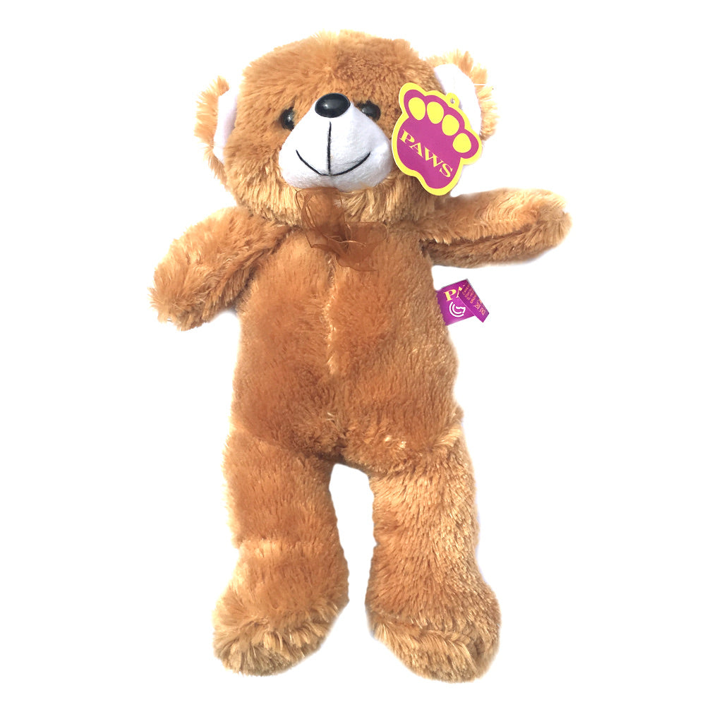 Paws 13in Standing Bear Soft Toy [honeygold] 48381