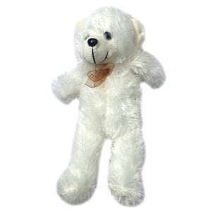 Paws 13in Standing Bear Soft Toy [white] 48381