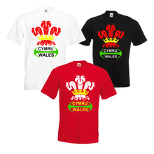 Wales Rugby Feathers Loose-Fit Unisex T-Shirt
