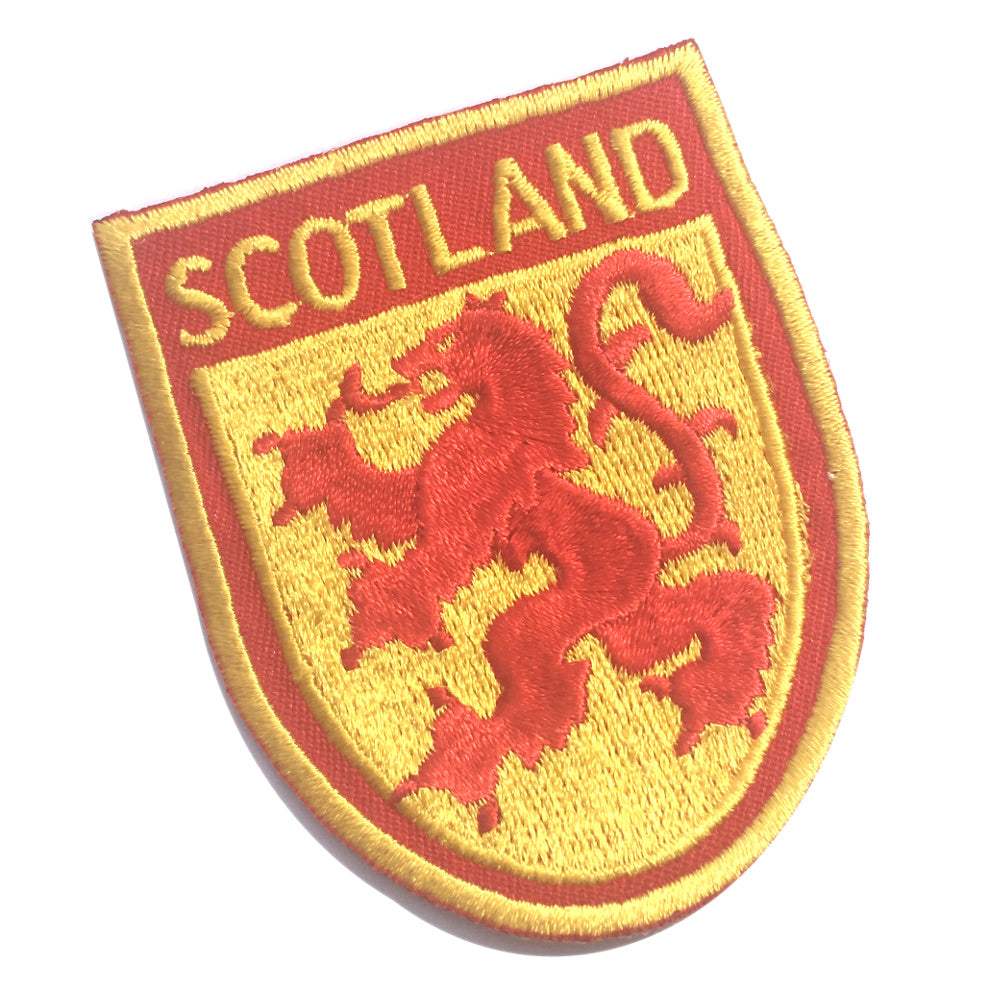 Scotland Scottish Rampant Lion Shield Embroidered Patch