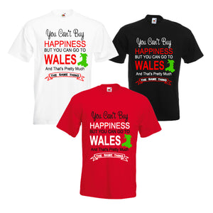 Happiness Go To Wales Unisex T-Shirt