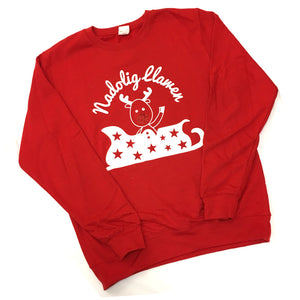 Wales Christmas Jumper Sweatshirt [red reindeer]