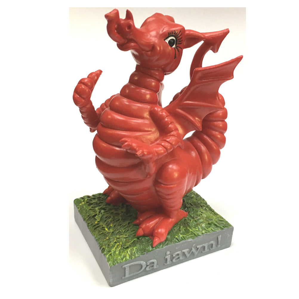 Wales Dai Dragon Collectible Resin Figure by John Upton